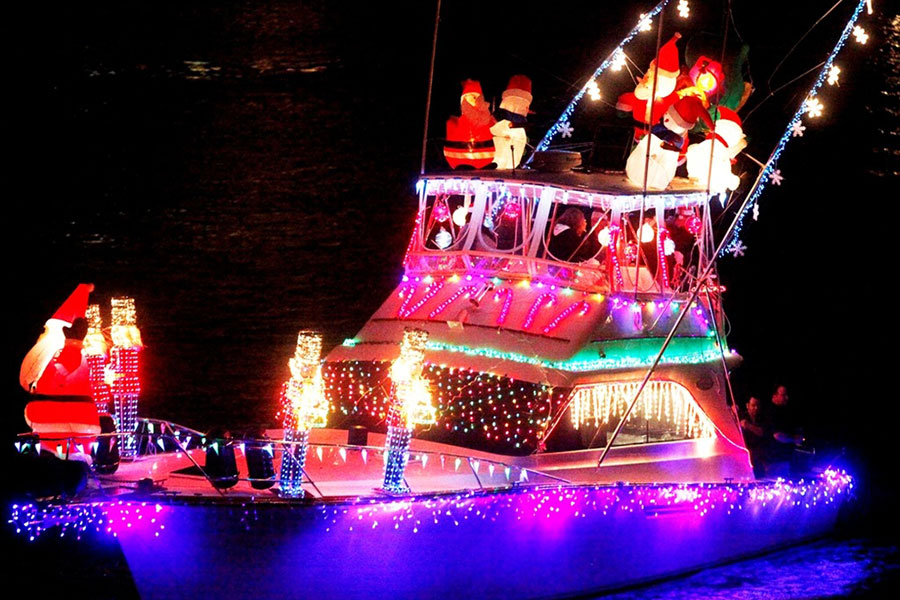 Fowl River Christmas Boat Parade 2020 About Fowl River   Seafood in South Mobile